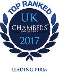 Top Ranked Leading Firm Chambers and Partners