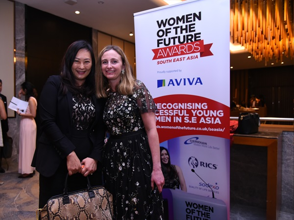 Mishcon sponsor and present Professions Award at Women of the Future, South East Asia