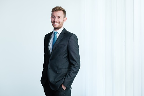 Frank Cook, Trainee Solicitor