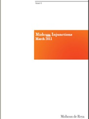 Mishcon Injunctions: Issue 6 - March 2011