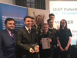 Young Enterprise's Tenner Challenge awards at Mishcon