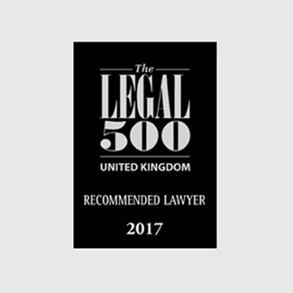 Legal 500 Reccommended