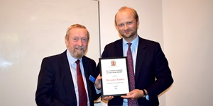 ZSL awards Alexander Rhodes Conservationist of the Year