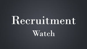 Recruitment Watch: October 2014