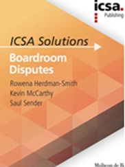 Boardroom Disputes: ICSA Solutions