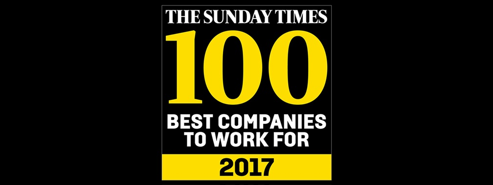 Sunday Times Best Company to Work For