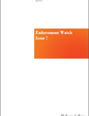 Enforcement Watch - Issue 7: May 2012