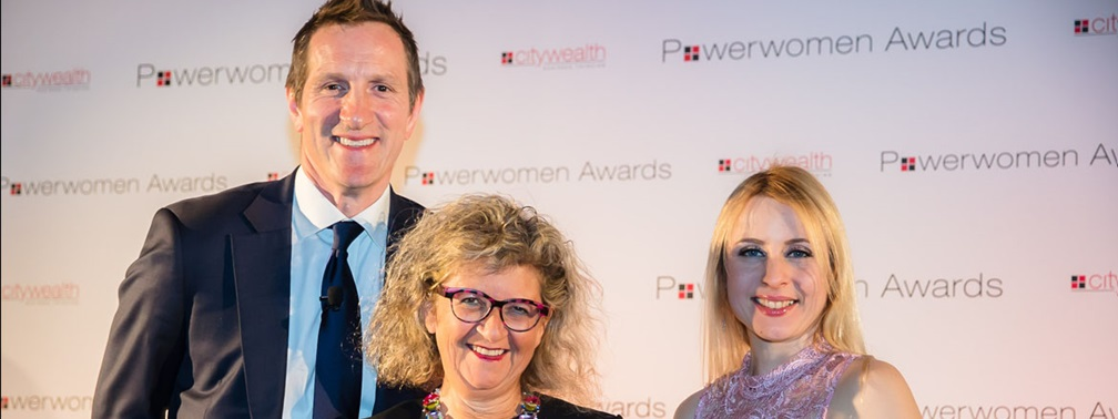 Sandra Davis and Mishcon de Reya awarded at Citywealth Power Women 2018