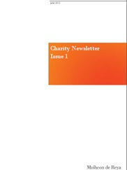 Charity Newsletter: June 2012