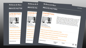 Private Matters: September 2014