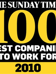 Sunday Times 100 Best Companies To Work For 2010