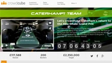 Caterham F1 Team launches #RefuelCaterhamF1: a chance to crowdfund the team's return for the season finale in Abu Dhabi