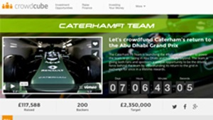 Caterham F1 Team launches #RefuelCaterhamF1: a chance to crowdfund the…