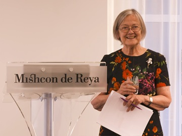 A reception with Baroness Hale