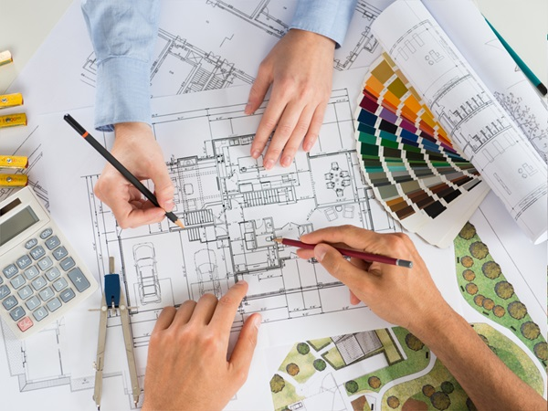 Planning permission – check for copyright in architects' drawings