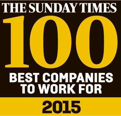 Sunday Times 100 Best Companies 2015