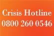 Crisis Hotline 0800 260 0546