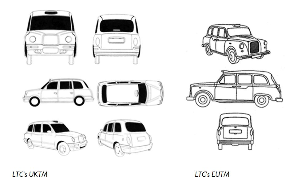 Taxi shapes
