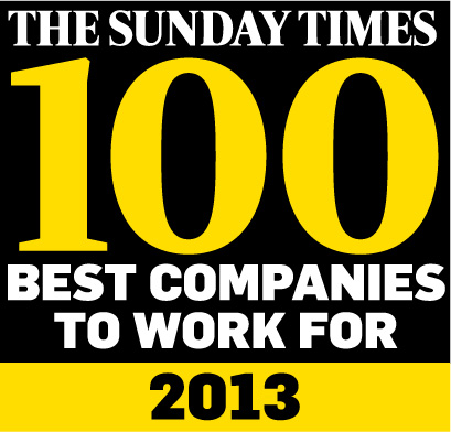 Sunday Times 100 Best Companies 2013