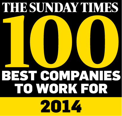 Sunday Times 100 Best Companies 2014