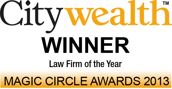 Citywealth - Law Firm of the Year 2013