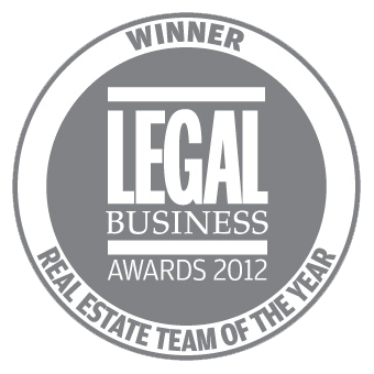 Winner: Real Estate Team of the Year - Legal Business Awards 2012