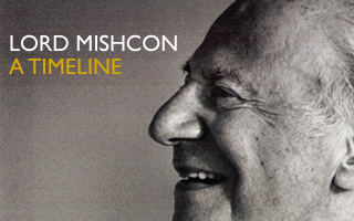 Lord Mishcon - A timeline