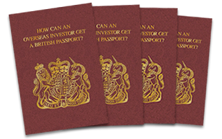 How can an overseas investor get a British passport