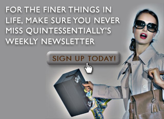 Sign Up for the Quintessentially weekly newsletter