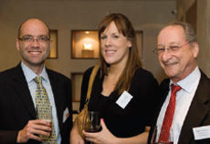 John England (Mishcon de Reya), Laura Chesters (formerly Property Week), Martin Fleishman (Consultancy International)
