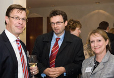 Giles Barrie (Property Week), Anthony Brown (Lend Lease), Helen Gordon (Legal & General)