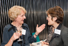 Liz Peace CBE (British Property Federation), Lucinda Bell (British Land)